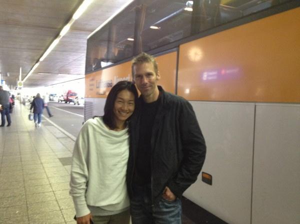 Kimiko with her husband Michael Krumm.