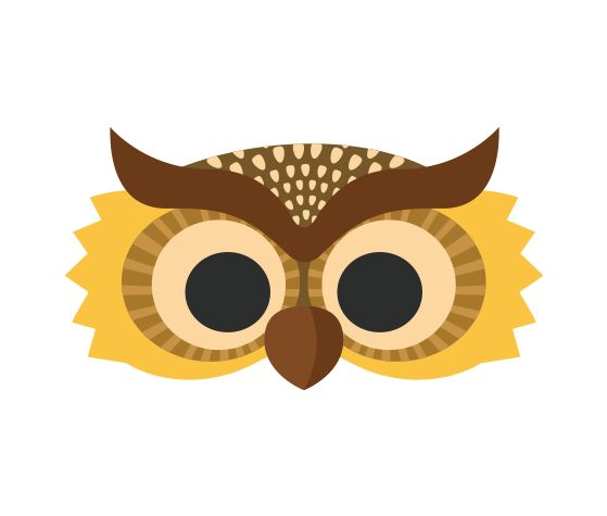 Download this Night Owl Printable Mask and other free printables