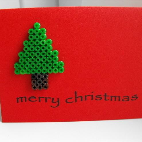 hama beads designs | Hama Beads Christmas Tree - Folksy