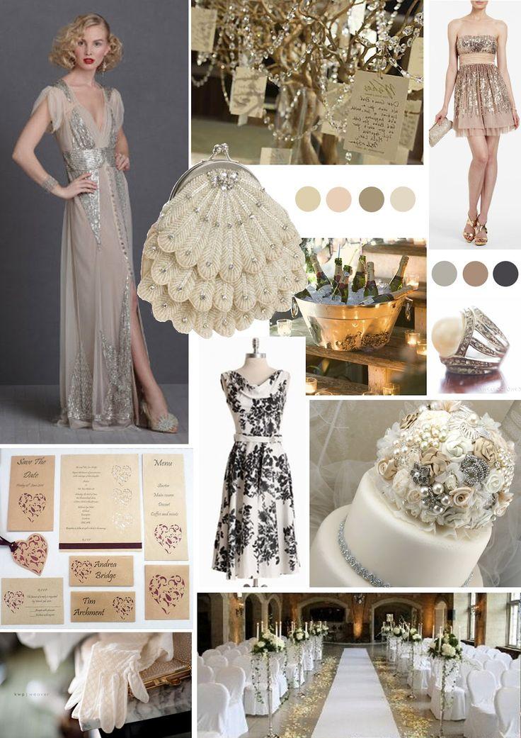 .Glamour wedding theme