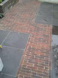 Afbeeldingsresultaat voor legpatroon betontegels en waaltjes