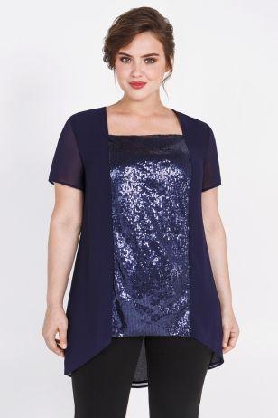 Блузка темно-синяя женский темно-синяя (51900388) Bestia Donna