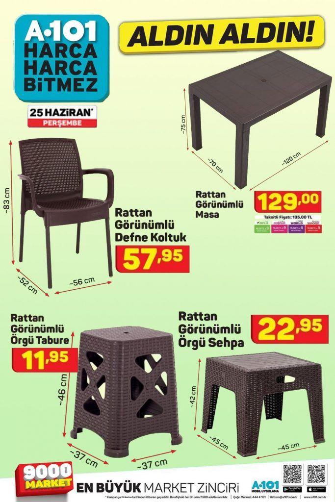 A101 2 Haziran Plastik Masa Ve Sandalye Aktuel Urun Sayfasi