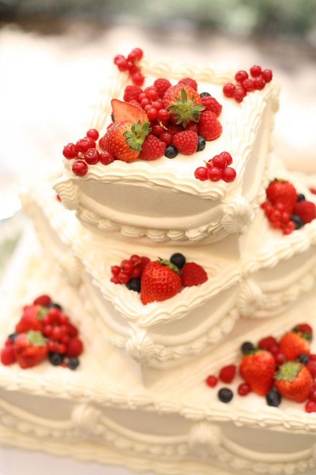 Wedding cake / ウェディングケーキ