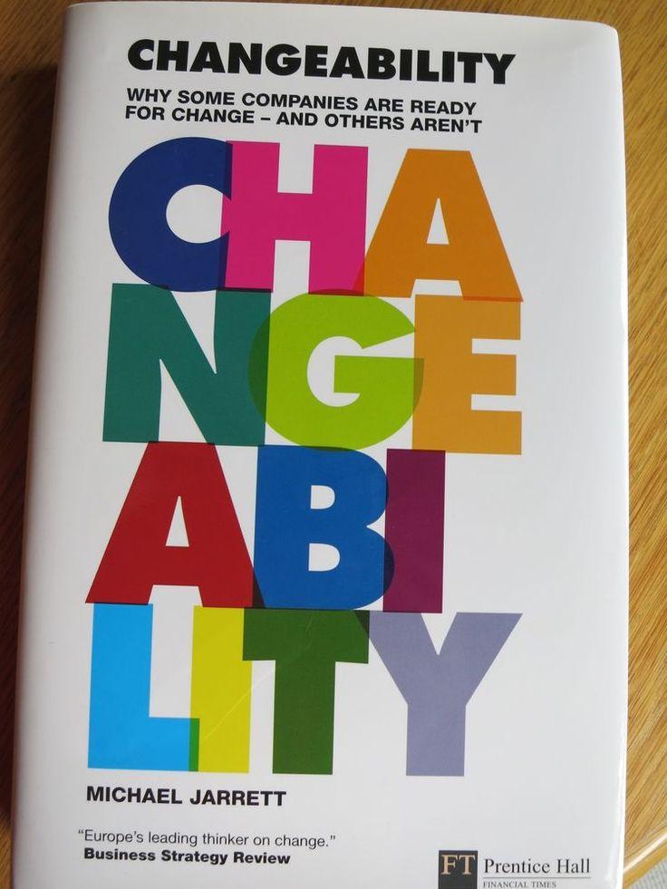 Michael Jarrett, Changeability, gebundene Ausgabe, unbelesen, neuwertig