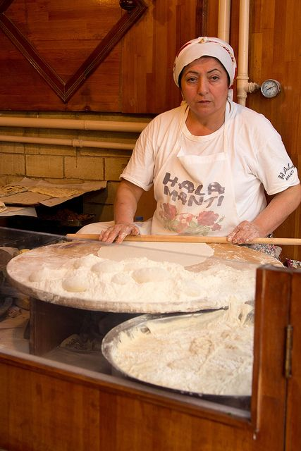 The Baker. Istanbul