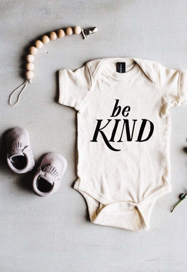 a07f4042c48a Be Kind  Baby Bodysuit