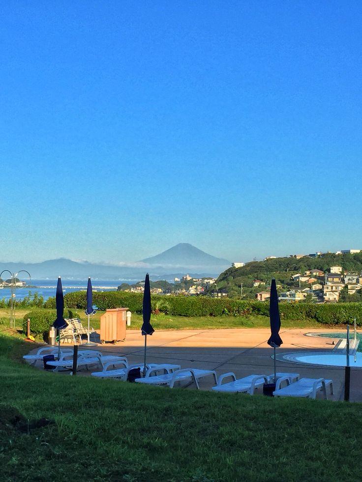 #MtFuji from #ShichirigaHama #Kamakura #Japan so #beautiful #七里ヶ浜 からの #富士山 が綺麗♬