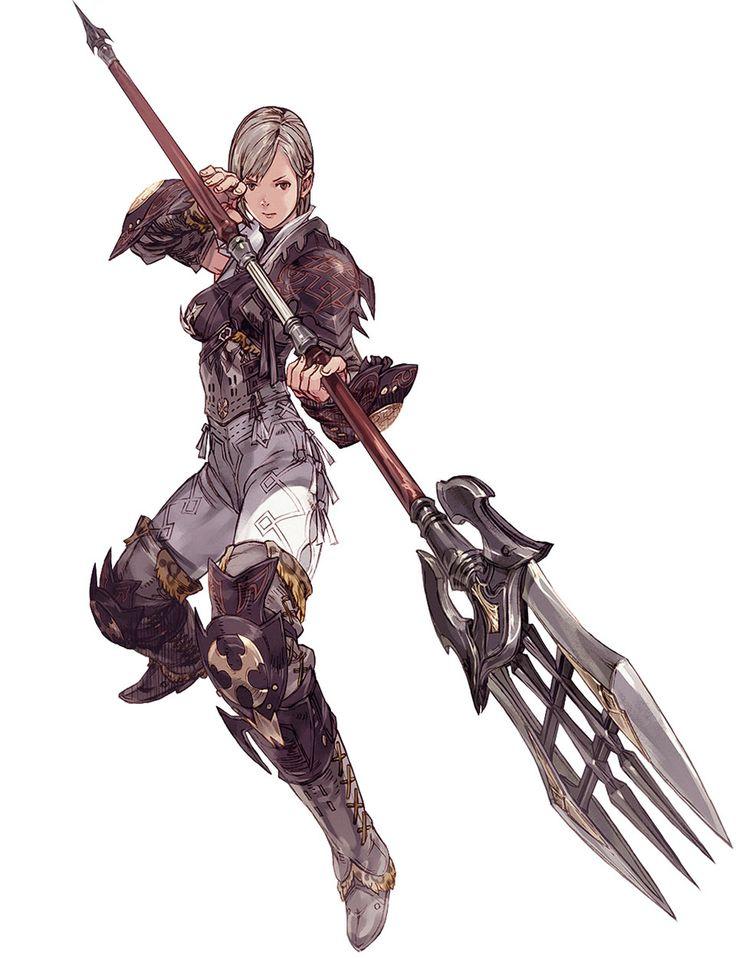 Hyur Female Lancer