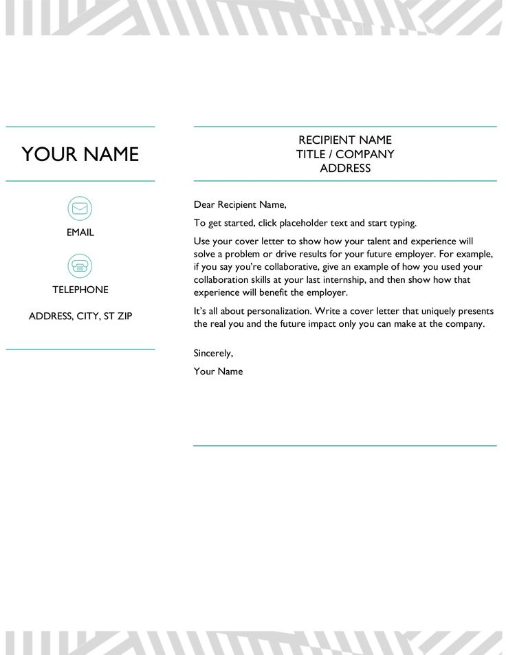 creative cover letter  designed by moo