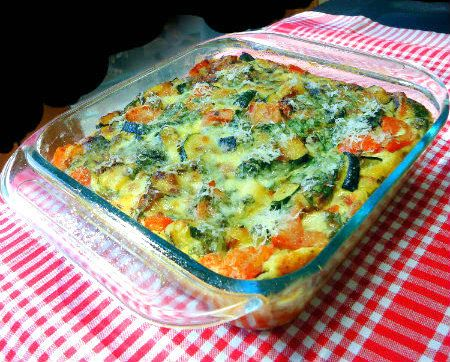 One Perfect Bite: Vegetable Strata
