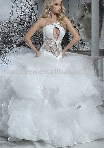 22 best See Through Corset Wedding Dress images on Pinterest | Short ...