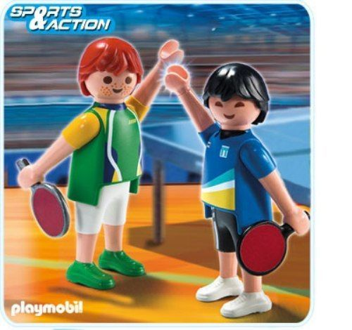 Playmobil Olympic Summer games 2012 LONDON 5197 2 Table tennis player in Toys & Games, Pre-School & Young Children, Playmobil | eBay