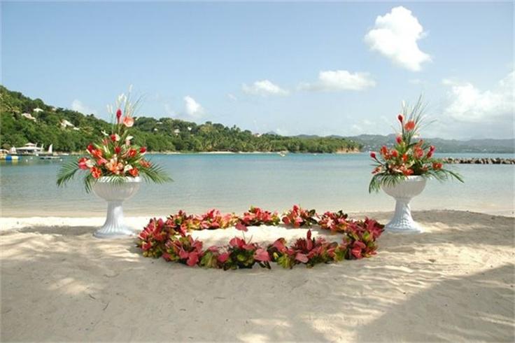 Beach Wedding Ceremony Decorations: 20 Best 2014 Beach Wedding Arch Images On Pinterest