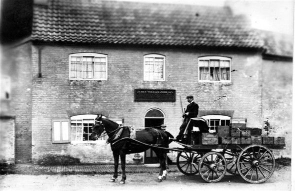 Deliveries to the Wheatsheaf Muston (Now The Gap Inn) 1896