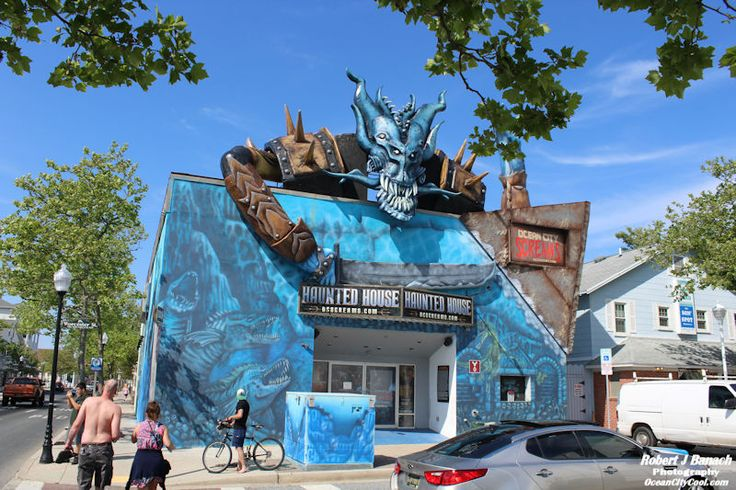 Ocean City Screams Haunted House located at the corner of Worcester & Baltimore in downtown Ocean City MD, learn more... #oceancitycool
