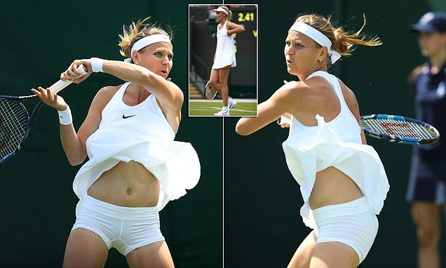 Do these players' outfits really meet the strict Wimbledon dress code?