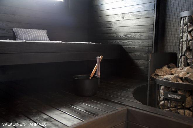 Sauna from divaaniblogit.fi/valkoinenharmaja