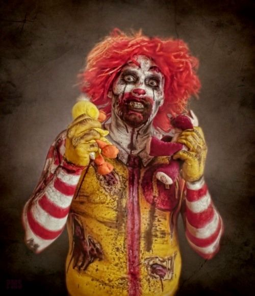 zombie ronald creepiest fucking thing ive ever seen