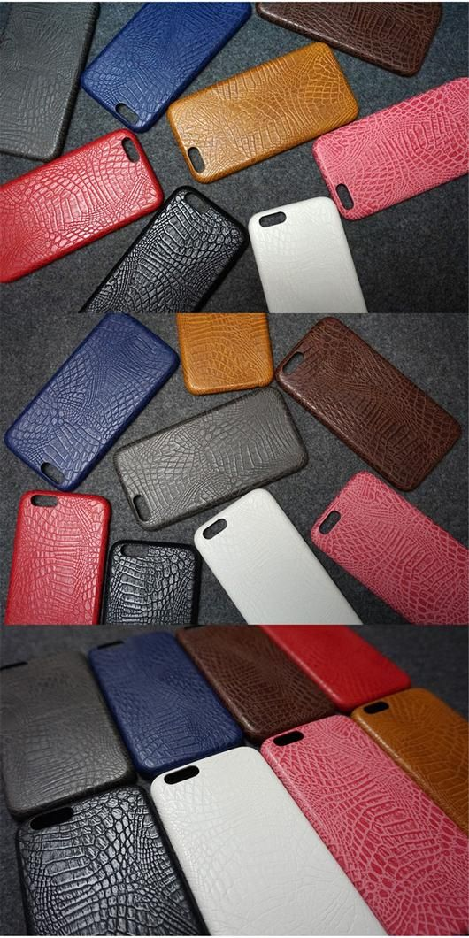 Leather Crocodile Snake Case for iPhone 6 and Up