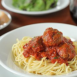 Spaghetti And Meatballs With Mark Recipe — Dishmaps