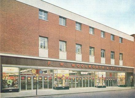 Woolworths, Castle Street. 1960s. Shrewsbury, Shropshire
