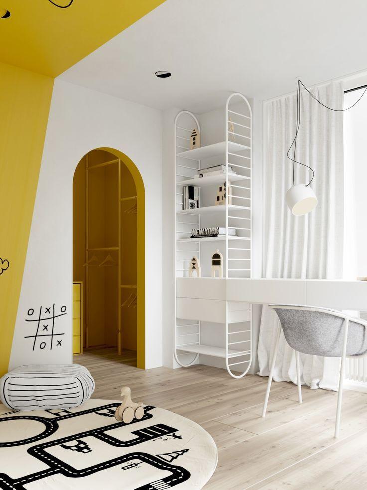 minimalist children s bedroom kiddo bedrooms yellow kids rooms rh pinterest com minimalist childrens bedroom minimalist guy bedroom