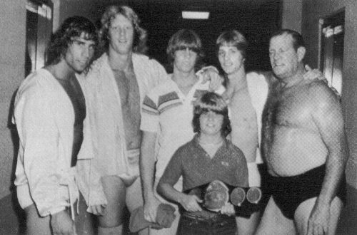 My first loves in the wrestling ring-the Von Erich family...straight from the heart of Texas