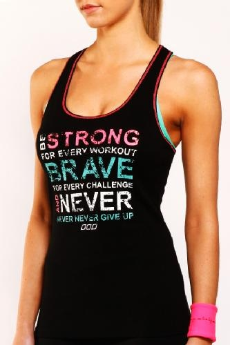Love Lorna Janes motivational tanks! So comfy, look great and motivate! I have and love this one:)