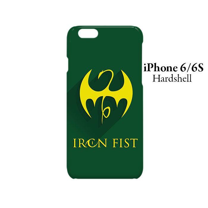 Iron Fist Superhero iPhone 6/6s Hardshell Case