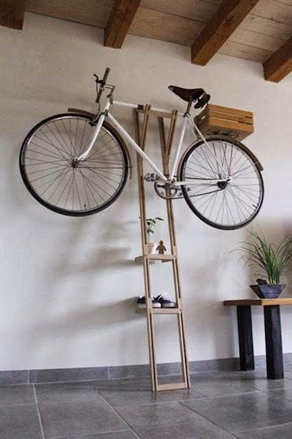 Guardar bicicletas de manera original