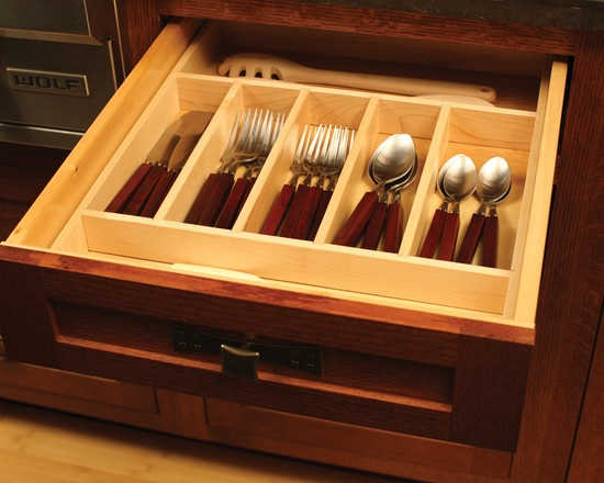 Traditional Kitchen Kitchen Drawer Organizers Design, Pictures, Remodel, Decor and Ideas - page 11