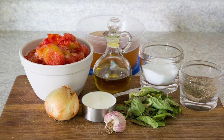 Freezer-Friendly Tomato Basil Bisque