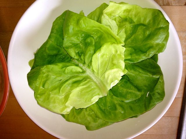 Food Network's Sunny Anderson's Beef Lettuce Wraps + Recipe Link Up