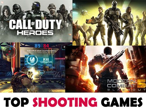 Action Games - Top First Person Shooter Games For Android (FPS) - Action Games you can't resist