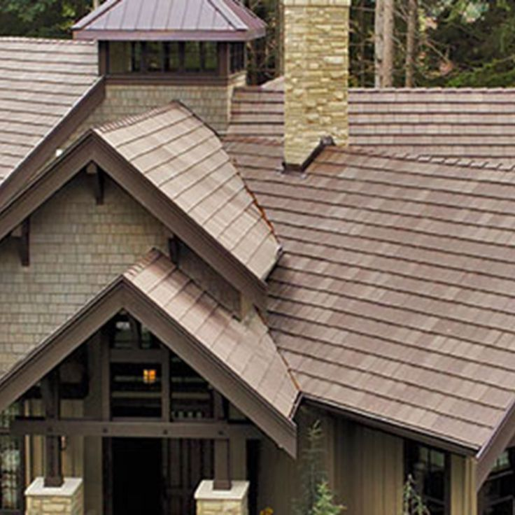 1000 images about craftsman style homes and boral roofing on pinterest home arts crafts - Houses with ceramic tile roofing ...