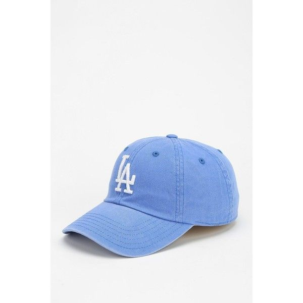 American Needle MLB Baseball Hat ($29) ❤ liked on Polyvore featuring accessories, hats, baseball hat, la dodgers hat, baseball hats, la dodgers baseball cap, dodgers hat and cotton hats