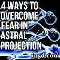 Fear can be a major obstacle for beginners when it comes to practicing astral projection. Fortunately, there are simple techniques that help overcome fear of astral projection.