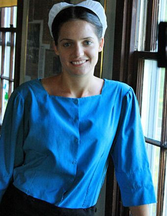 """Kate Stoltzfus, star of TLC's """"Breaking Amish,"""""""