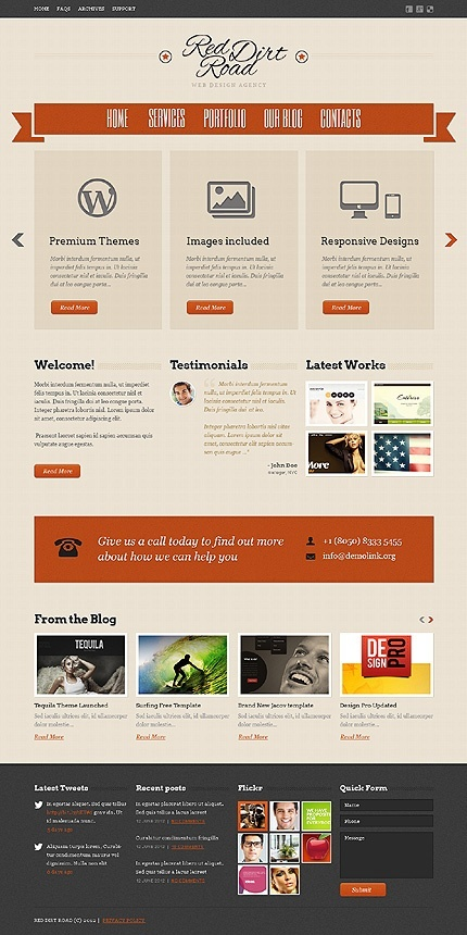 #Webtemplate #Design