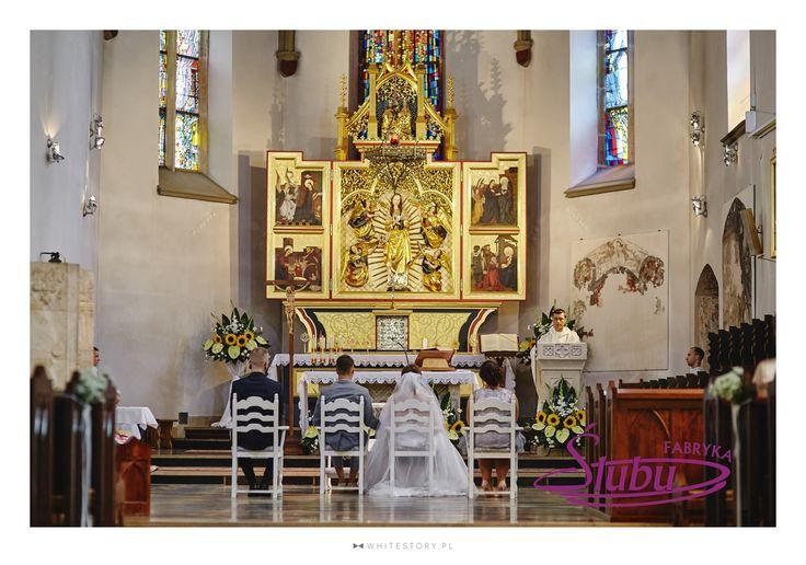 Dekoracja kościoła do ślubu Jasło Fara