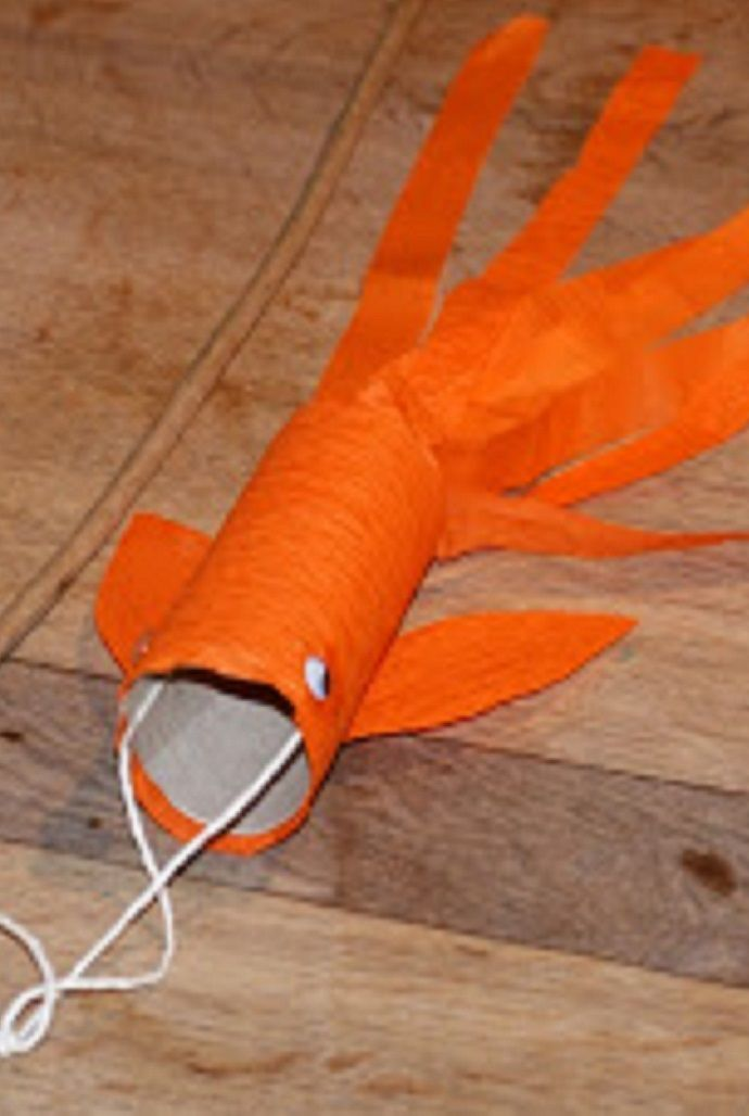 Make CHINESE GOLDFISH KITES