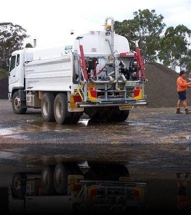 Felco Tipper Truck application...#Road #Watering #tanker, 11000 litres. For More: http://goo.gl/15Pbn1