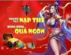 Võ Lâm 3 mở sự kiện Nhanh tay nạp thẻ - rủng rỉnh quà ngon http://taigamevolam3.vn/su-kien-game-vo-lam-3