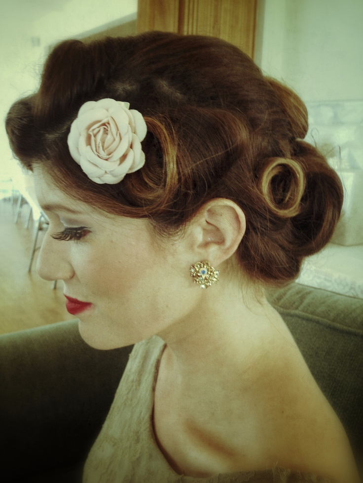 best 25 1950s updo ideas on pinterest 50s hairstyles