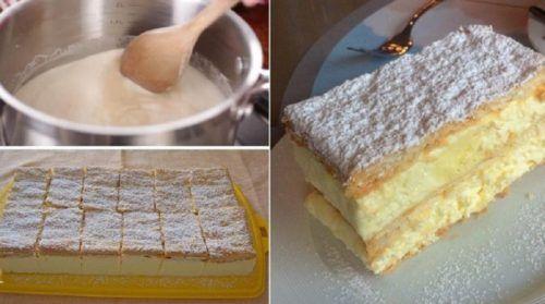 A tökéletes házi krémes receptje, olyan mint amilyet régen a nagyi készített!