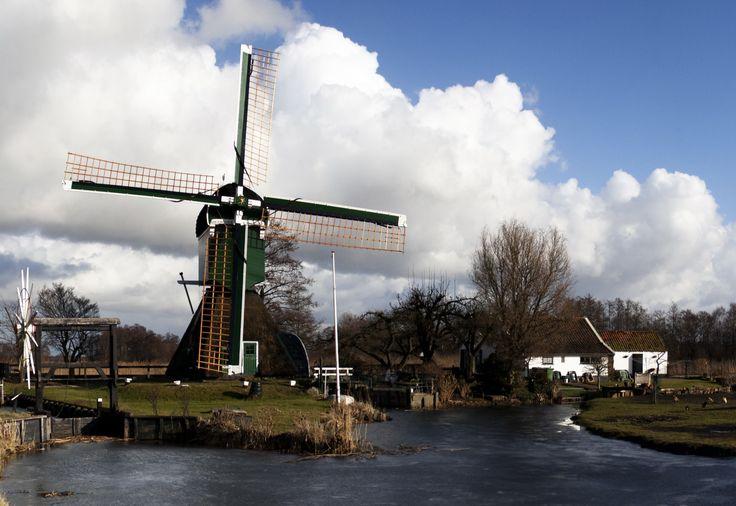 "Molen ""de Trouwe Wachter"" near Tienhoven & Loosdrechtse Plassen"