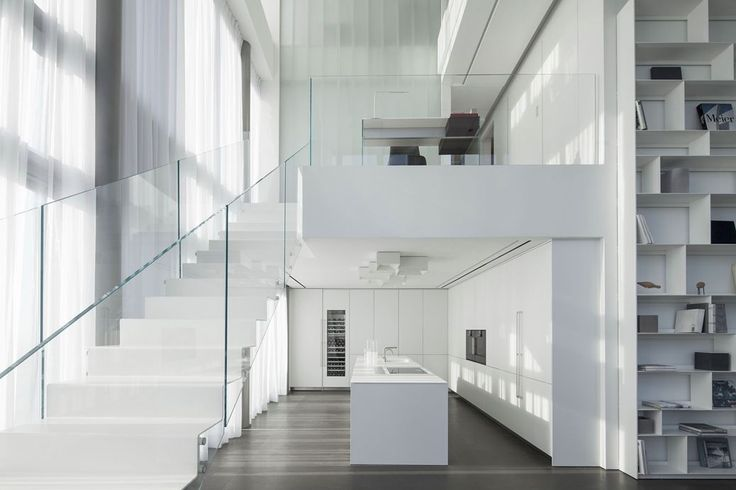 Square Compositions Penthouse - Picture gallery #architecture #interiordesign #kitchen