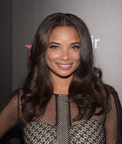 Rochelle Aytes Long Wavy Cut - Rochelle Aytes showed off a perfectly styled wavy…