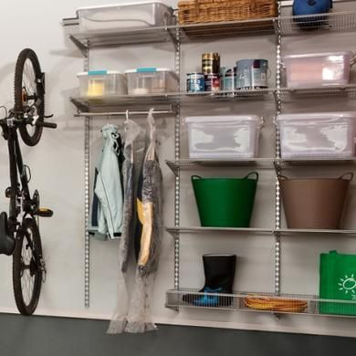 Howards Storage World | Garage Sports Rack-Platinum for storage    Be still my beating heart!